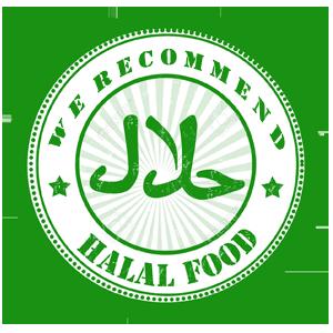 halal food recomend